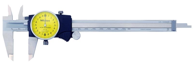 Thước Cặp Đồng Hồ 505-730 <br> 0-150mm
