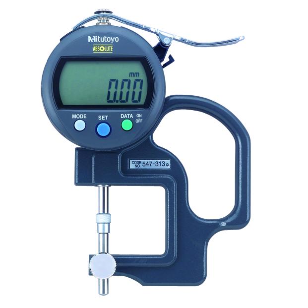 Đồng hồ đo độ dày 547-313 <br>0-10mm