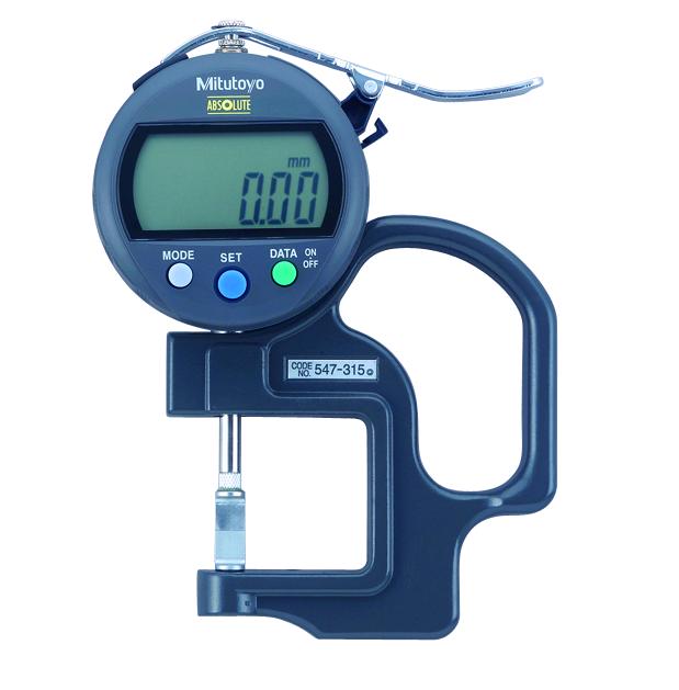 Đồng hồ đo độ dày điện tử 547-315 <br>0-10mm
