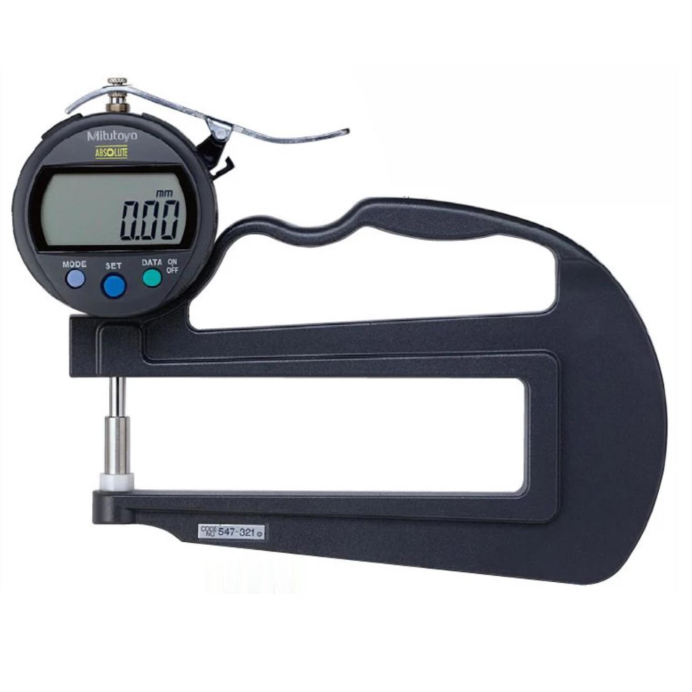 Đồng hồ đo độ dày điện tử 547-321 <br>0-10mm