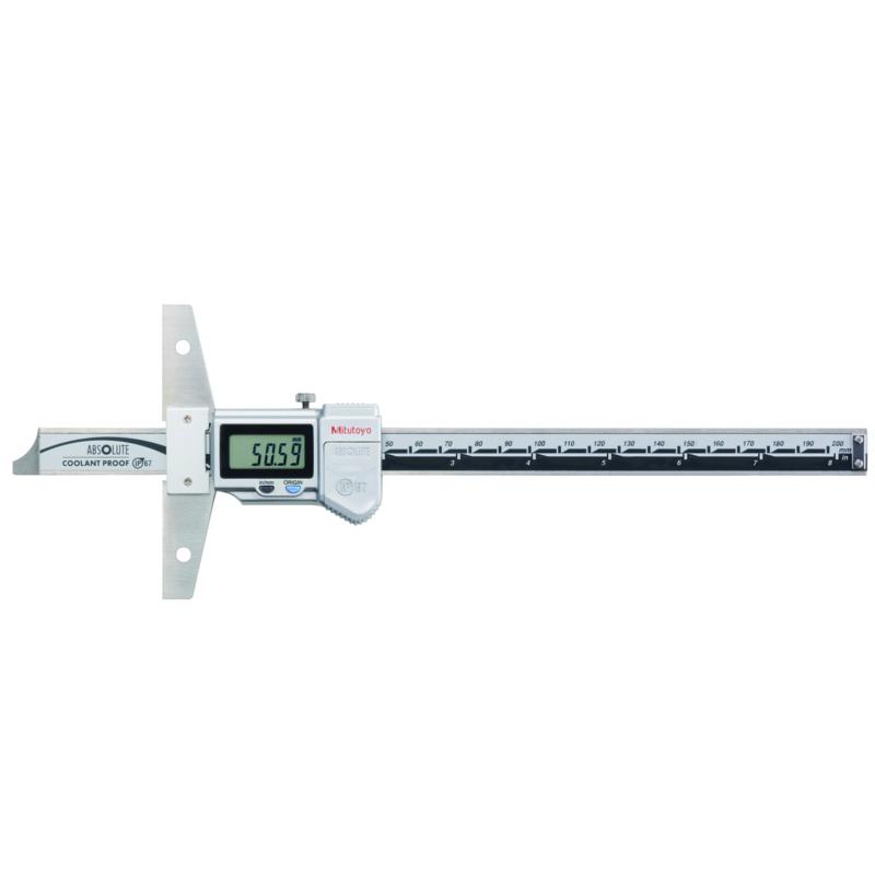 Thước đo sâu điện tử 571-262 <br> 0-200mm/ 8 inch