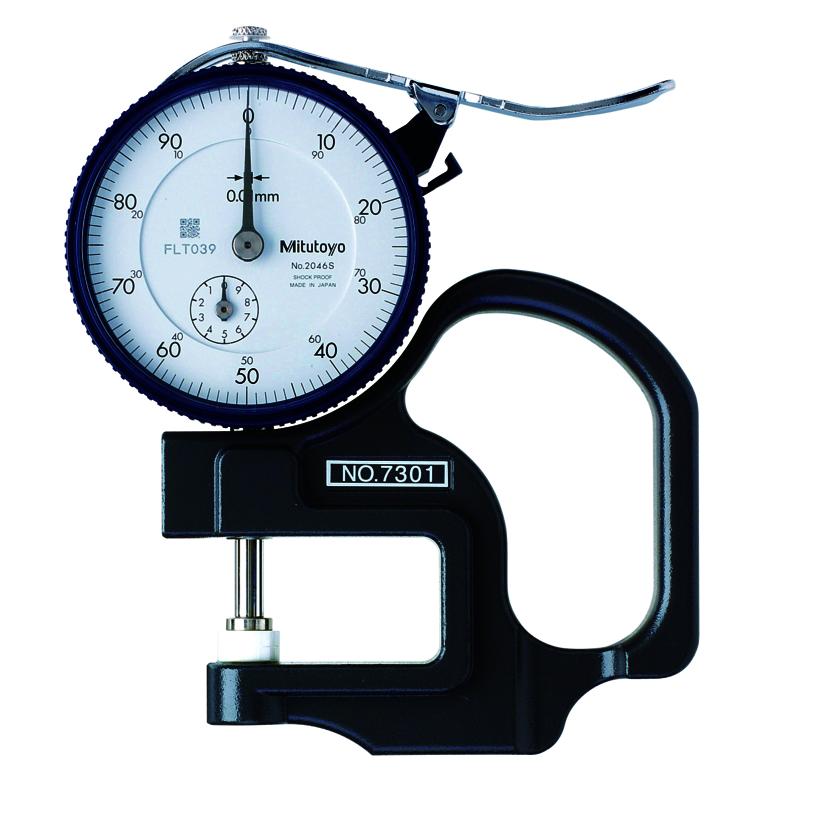 Đồng hồ đo độ dày 7301 <br> 0-10mm
