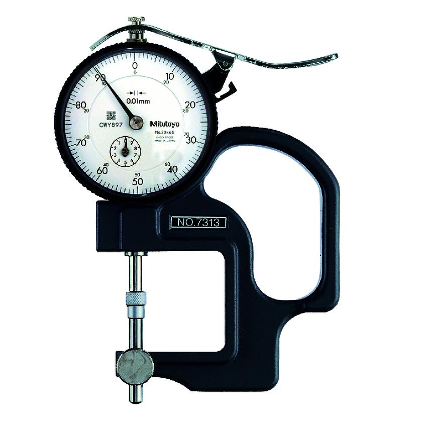 Đồng hồ đo độ dày 7313 <br> 0-10mm