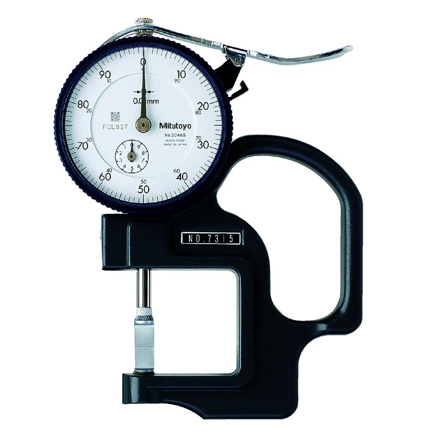 Đồng hồ đo độ dày 7315 <br> 0-10mm