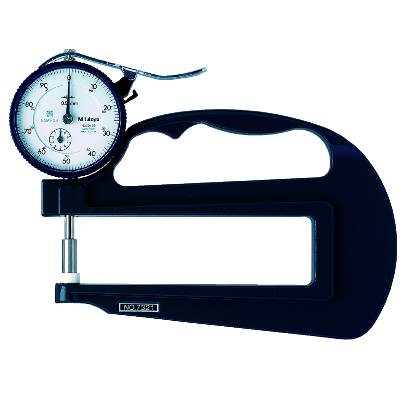Đồng hồ đo độ sâu 7321 <br> 0-10mm