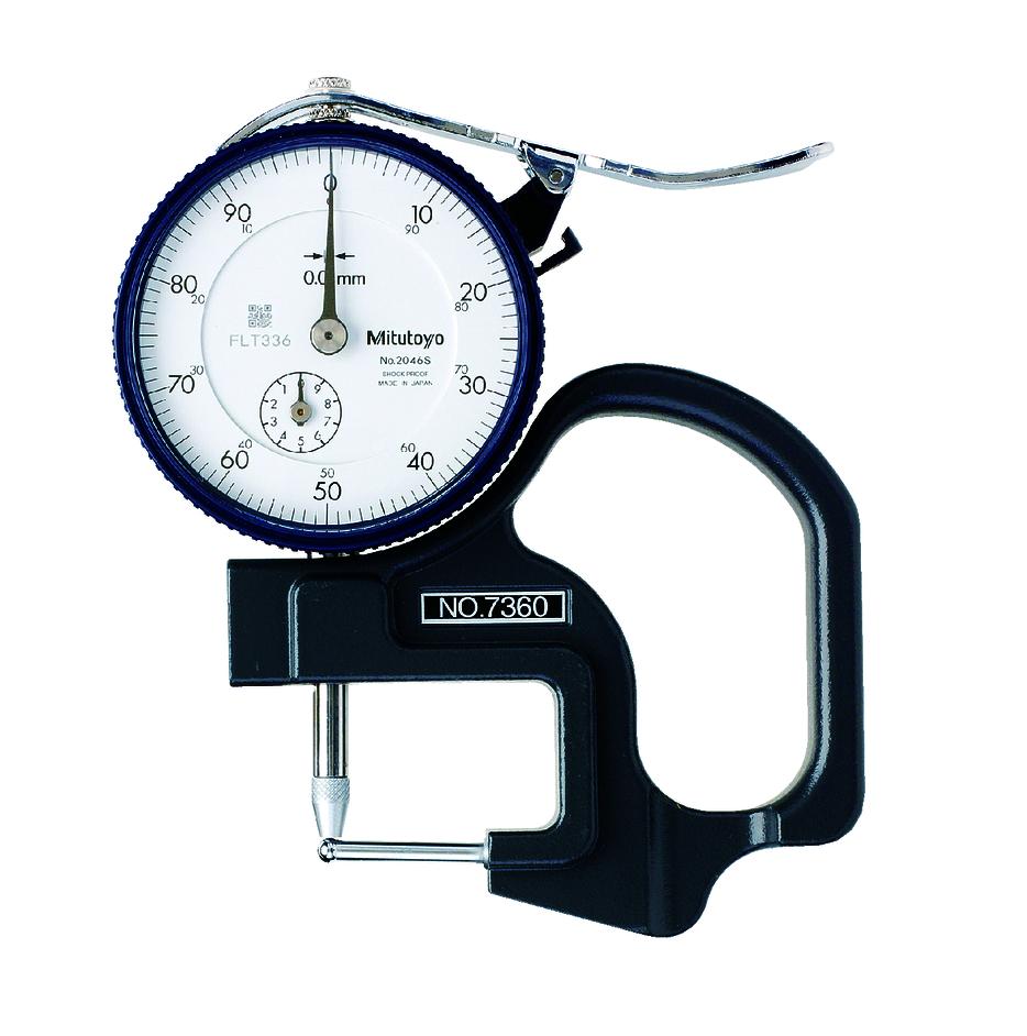 Đồng hồ đo độ dày 7360 <br> 0-10mm