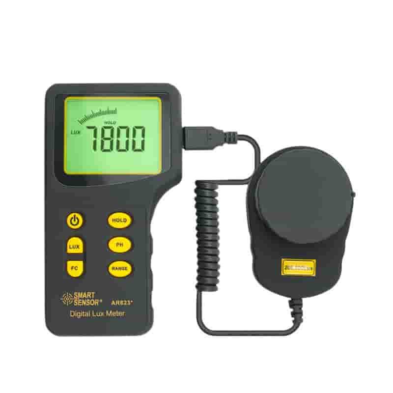 Máy đo ánh sáng SmartSensor  AR823+ 1~100.000 Lux