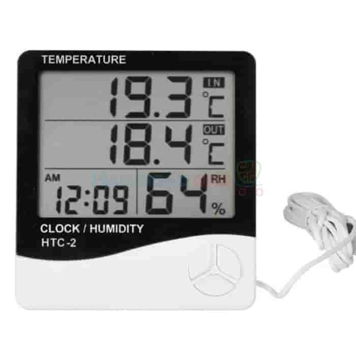Đồng hồ đo nhiệt độ & độ ẩm<br> HTC-2
