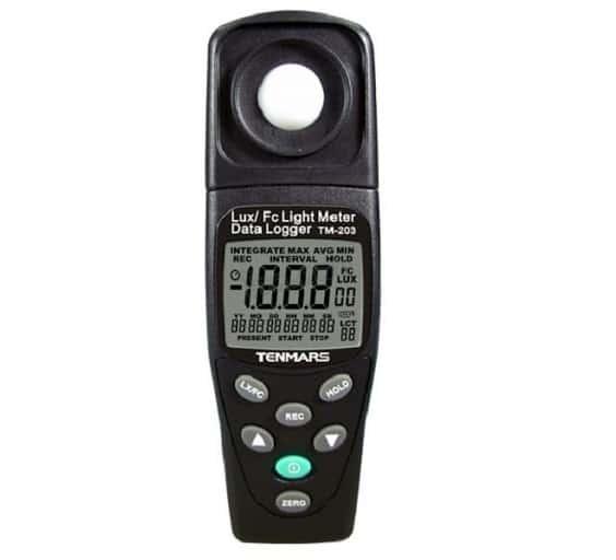 Máy đo ánh sáng <br> Tenmars TM-203 <br> 20~200000Lux