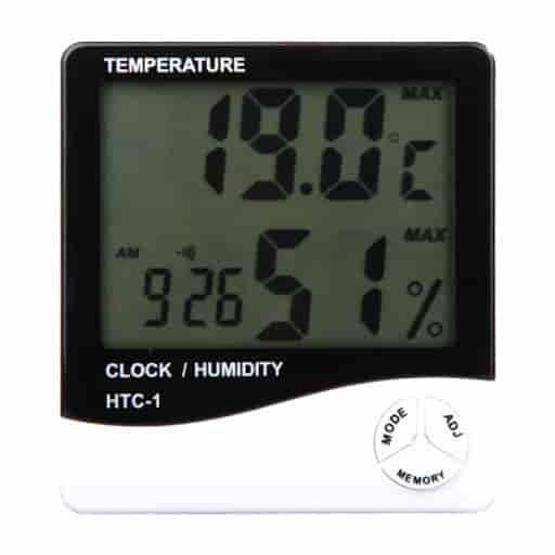 Đồng hồ đo nhiệt độ và độ ẩm <br> HTC-1